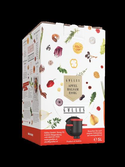 Apfel Balsamessig, <br>5 l Bag in Box