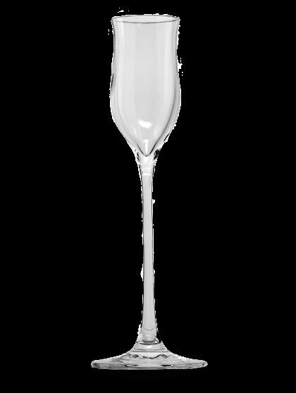 Edelbrandglas <br>mit Eichstrich