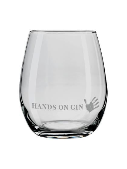 HANDS ON GIN Glas