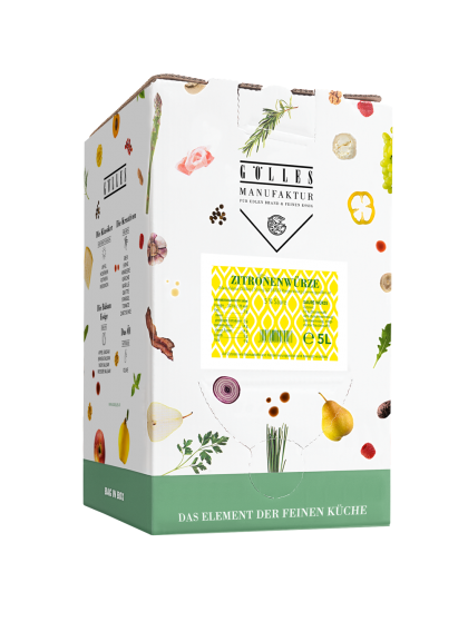 Zitronenwürze, <br>5 l Bag in Box