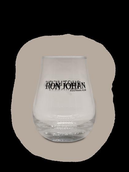 Glas Ruotkers Whiskey und Ron Johan Rum